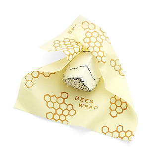 Bee's Wrap Reusable Food Wraps for Cheese – Pack of 3