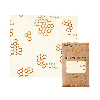 Bee's Wrap Reusable Food Wraps for Cheese – Pack of 3 alt image 7