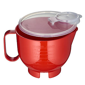 Microwave Cookware Stain Proof – Red Lidded Jug 2L alt image 4