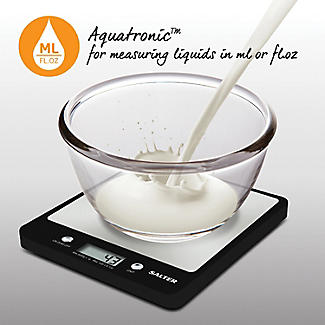 Salter Stainless Steel Aquatronic Kitchen Scales alt image 6