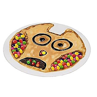 Tefal Owl Animal Pancake Pan 25cm with Squeeze Bottle alt image 2