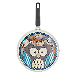 Tefal Owl Animal Pancake Pan 25cm with Squeeze Bottle alt image 3