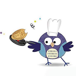 Tefal Owl Animal Pancake Pan 25cm with Squeeze Bottle alt image 7