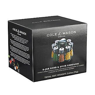 Cole & Mason 8 Jar Herb & Spice Carousel alt image 5