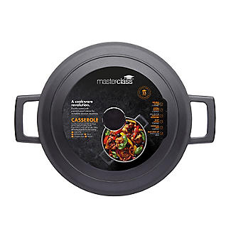 MasterClass Cast Aluminium 28cm Casserole Dish 5L alt image 4