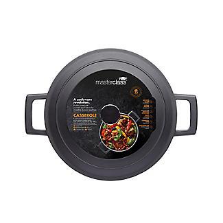 MasterClass Cast Aluminium 24cm Casserole Dish 4L alt image 4