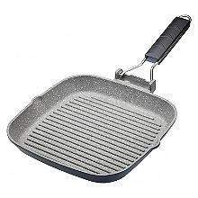 MasterClass Cast Aluminium 24cm Grill Pan