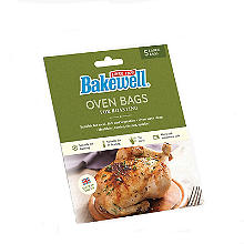 5 Bakewell Oven Bags for Roasting 35 x 43cm – Large