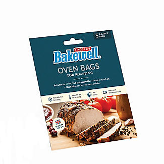 5 Bakewell Oven Bags for Roasting 55 x 45cm – Extra Large