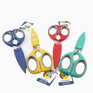 Colourworks Silicone Grip Multipurpose Kitchen Scissors – Colours Vary