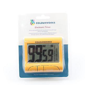 Colourworks Digital Easy Read Magnetic Kitchen Timer – Colours Vary alt image 2