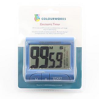 Colourworks Digital Easy Read Magnetic Kitchen Timer – Colours Vary alt image 5