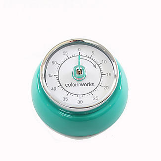 Colourworks Mechanical Magnetic Kitchen Timer – Colours Vary alt image 3