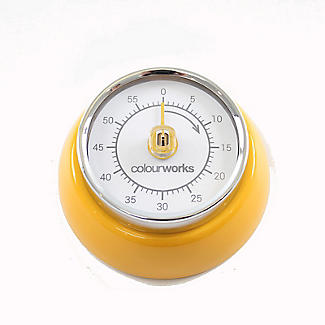 Colourworks Mechanical Magnetic Kitchen Timer – Colours Vary alt image 4