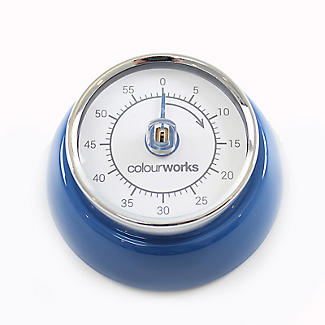 Colourworks Mechanical Magnetic Kitchen Timer – Colours Vary alt image 5