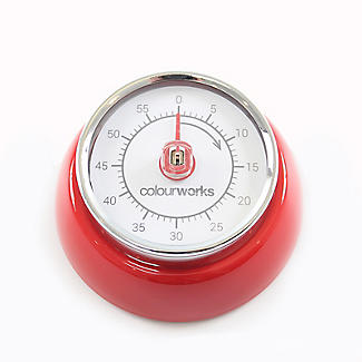 Colourworks Mechanical Magnetic Kitchen Timer – Colours Vary alt image 6