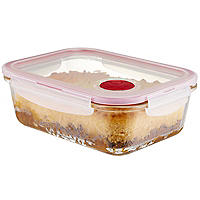 LocknLock Rectangular Glass Food Container 1L