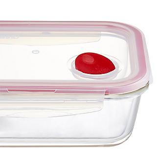 Lock & Lock Rectangular Glass Food Container 1L alt image 3