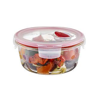 Lock & Lock Round Glass Food Container 650ml alt image 3