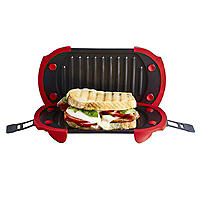 Lékué Microwave Grill for Toasted Sandwiches and More