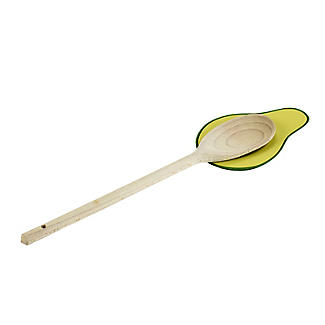 Avocado Silicone Spoon Rest
