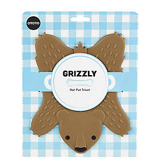 Grizzly Bear Silicone Trivet alt image 2