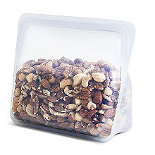 Stasher Reusable Stand Up Food Storage Bag Clear 1.7L