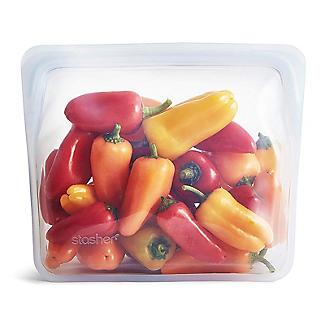Stasher Reusable Stand Up Food Storage Bag Clear 1.7L alt image 6