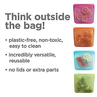 Stasher Reusable Stand Up Food Storage Bag Clear 1.7L alt image 7