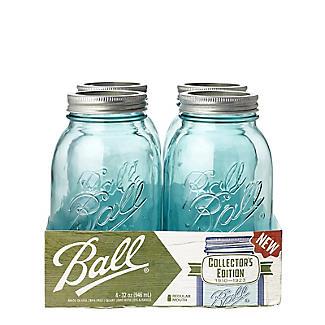 Ball Vintage Blue Preserving Jars 946ml – Pack of 4