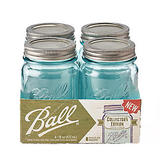 Ball Vintage Blue Preserving Jars 473ml – Pack of 4 alt image 4