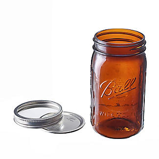 Ball Vintage Amber Preserving Jars 946ml – Pack of 4 alt image 3
