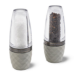 Cole & Mason City Concrete & Acrylic Salt and Pepper Mill Gift Set alt image 1
