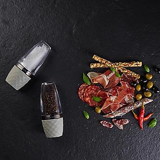 Cole & Mason City Concrete & Acrylic Salt and Pepper Mill Gift Set alt image 4