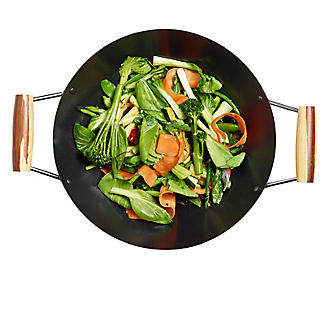 Prue's World Dual Handle Lidded Wok 31cm Dia. alt image 12