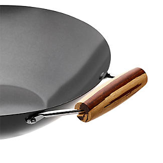 Prue's World Dual Handle Lidded Wok 31cm Dia. alt image 6