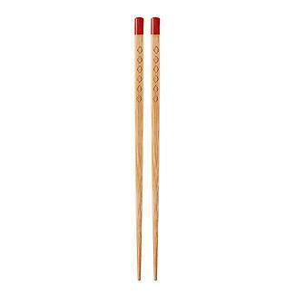 4 Pairs Prue's World Bamboo Chopsticks with Ceramic Rests alt image 6