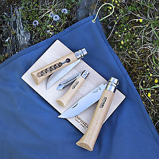 Opinel Nomad Cooking Set – Two Folding Knives, Corkscrew and Peeler alt image 6
