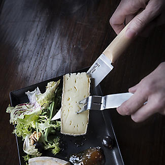 Opinel Cheese Knife and Fork Set alt image 6