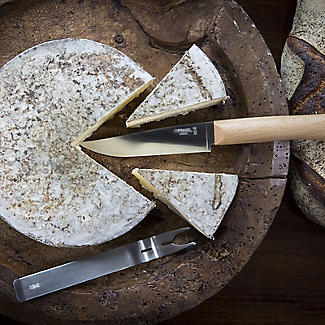 Opinel Cheese Knife and Fork Set alt image 7