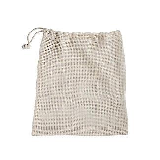 3 Unbleached Cotton Net Food Produce Bags alt image 4