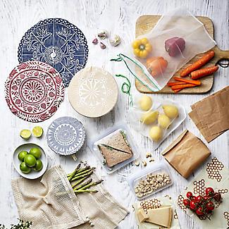 3 Unbleached Cotton Net Food Produce Bags alt image 6