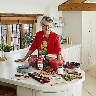 Prue's World 20cm Karahi Cooking Dish with Serving Basket alt image 10