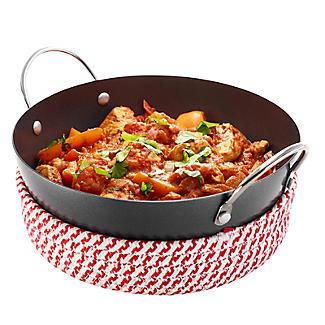 Prue's World 20cm Karahi Cooking Dish with Serving Basket alt image 6
