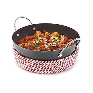 Prue's World 20cm Karahi Cooking Dish with Serving Basket alt image 7