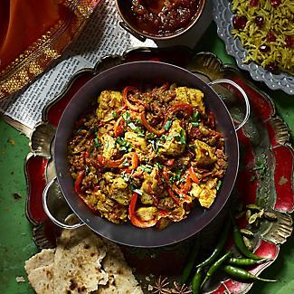 Prue's World 25cm Karahi Cooking Dish with Serving Basket alt image 2