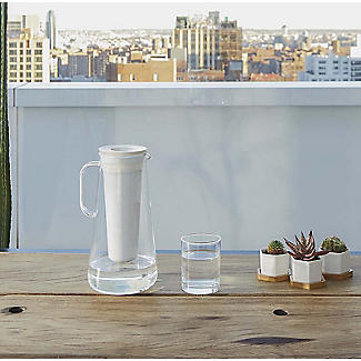 LifeStraw Home Water Filter Carafe Jug White alt image 4