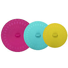 3 Joie Silicone Food Storage Lids