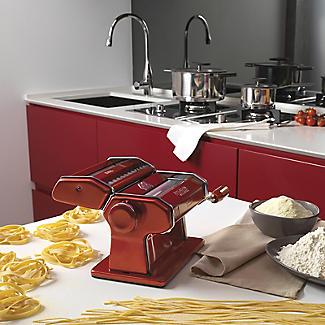 Marcato Atlas 150mm Pasta Maker Machine Red alt image 2