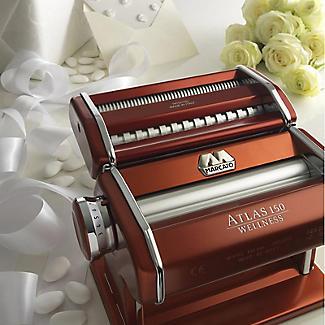 Marcato Atlas 150mm Pasta Maker Machine Red alt image 4